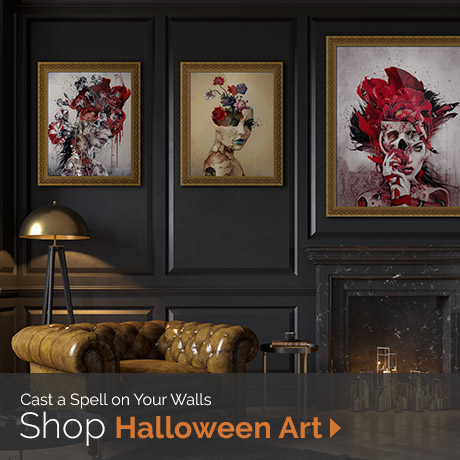 Cast a Spell on Your Walls | Shop Haunting Halloween Art
