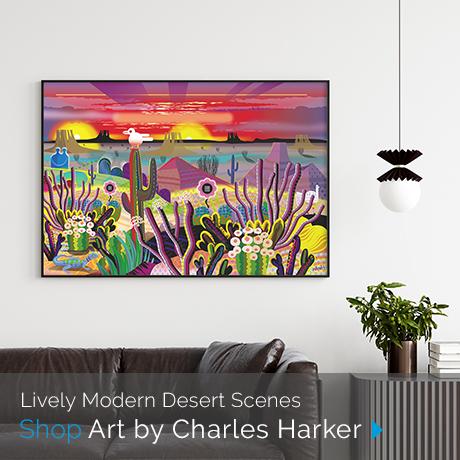 Featured Artist Charles Harker > Shop Now