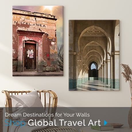 Dream Destinations for Your Walls | Shop Global Travel ARt