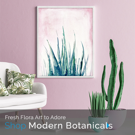 Fresh Flora Art to Adore | Shop Modern Botanicals