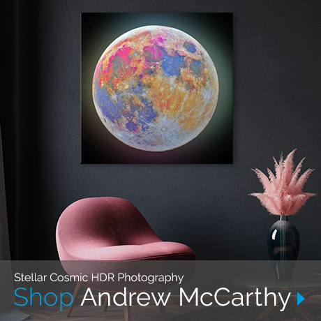 Stellar Cosmic HDR Photography | Shop Andrew McCarthy