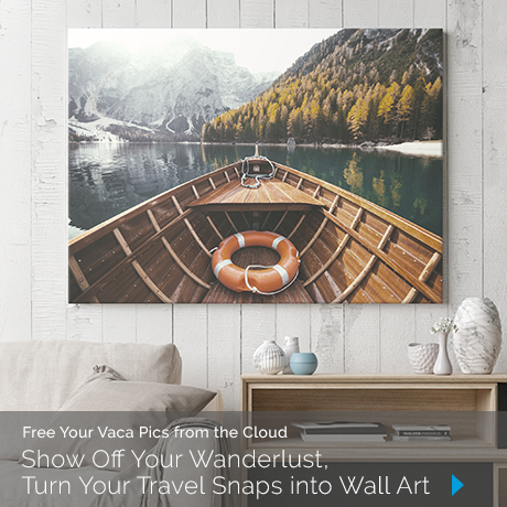 Turn Your Travel Snaps into Wall Art