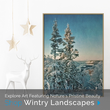 Explore Art Featuring Natures Pristine Beauty: Shop Wintry Landscapes