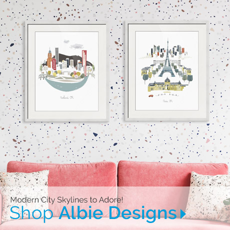 Modern City Skylines to Adore | Shop Albie Designs