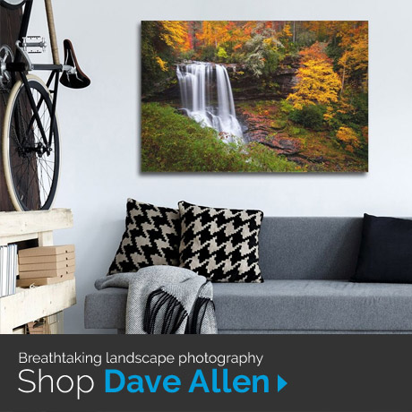 Breathtaking landscape photography: Shop Dave Allen art prints