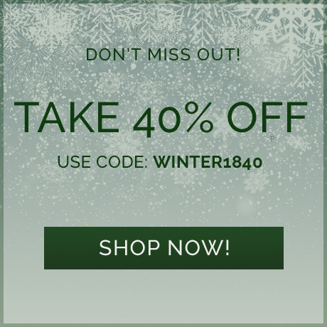 Take 40% off! Use code: WINTER1840