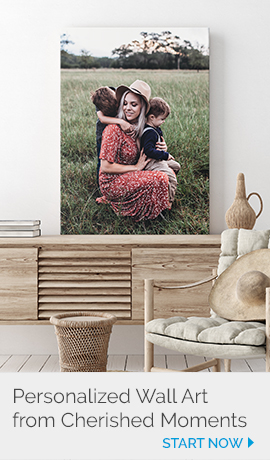 Customized Wall Art from Precious Memories