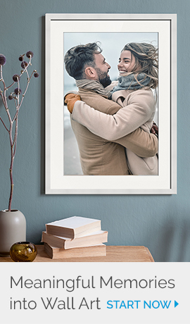 Make Meaningful Memories into Wall Art | Get Started Now!