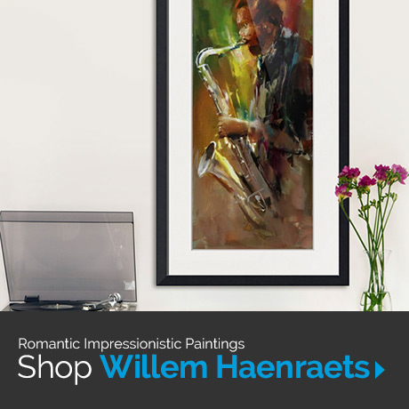 Romantic Impressionistic Paintings: Shop Willem Haenraets