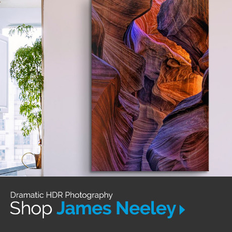 Dramatic HDR Photography. Shop James Neeley.