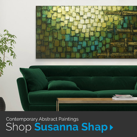 Contemporary Abstract Paintings: Shop Susanna Shap Art Prints