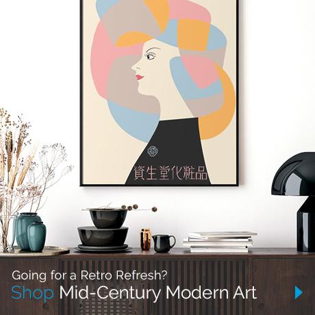 Going for a Retro Refresh? Shop Mid-Century Modern Art