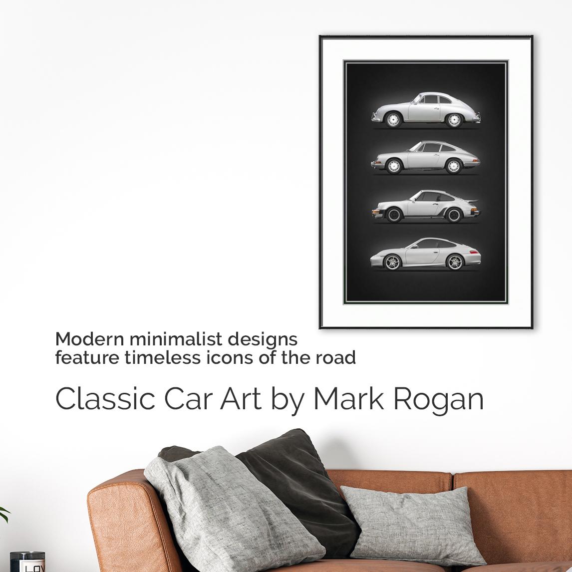 Classic Car Art by Mark Rogan